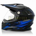 Шлем кроссовый VLAND M-819-2