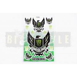 Наклейки Monster Army Набор № 1