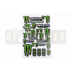 Набор наклеек Monster Supercross