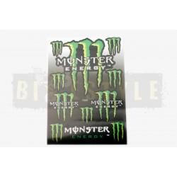 Набор наклеек Monster Energy № 10