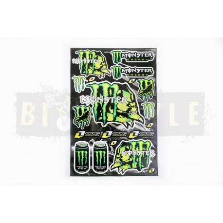 Набор наклеек Monster Energy № 11