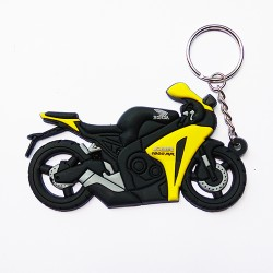 Брелок Honda Yellow Black