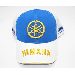Бесболка YAMAHA White/Blue Summer