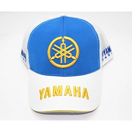 Бесболка YAMAHA White/Blue Summer