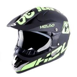 Шлем кроссов HELMO CR168 Skull