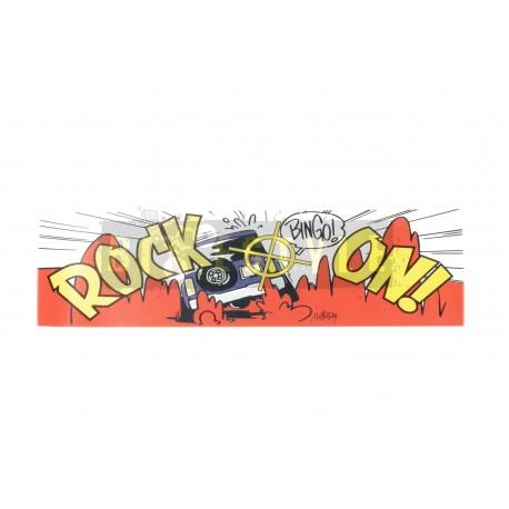 Наклейка Rock On