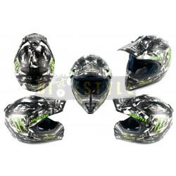 Шлем кроссовый CIRUS Monster Energy