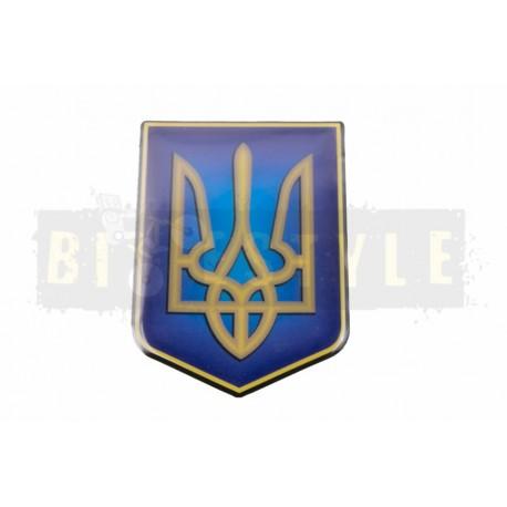 Наклейка Герб Украины (силикон)
