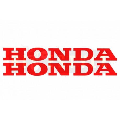 """Наклейка буквы """"HONDA"""" mod.2"""