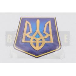 Наклейка Герб Украины mod.3