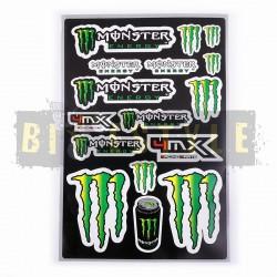 Набор наклеек Monster Energy № 16