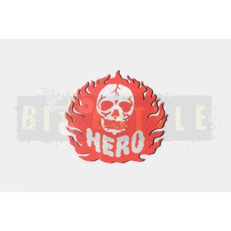 Наклейка HERO