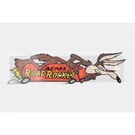 Наклейка Road Rocket