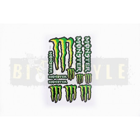 Набор наклеек Monster Energy № 4