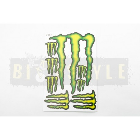 Набор наклеек Monster Energy № 5
