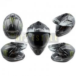 Шлем кроссовый FGN Monster Energy