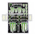 Набор наклеек Monster Energy № 17