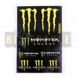Набор наклеек Monster Energy № 18