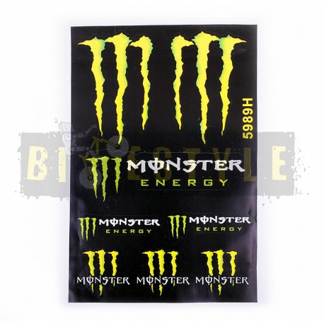 Набор наклеек Monster Energy № 18