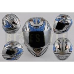 Шлем-интеграл BEON B 500 Blue Blade Mat