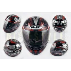 Шлем-интеграл HJC X1 Black/Red