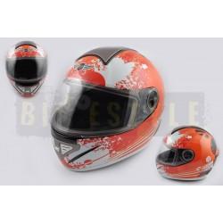Шлем-интеграл KOJI mod.550 White/Red