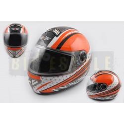 Шлем-интеграл KOJI mod.550 White/Orange