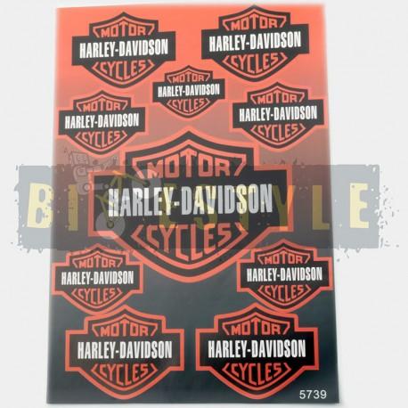 Набор наклеек Harley-Davidson