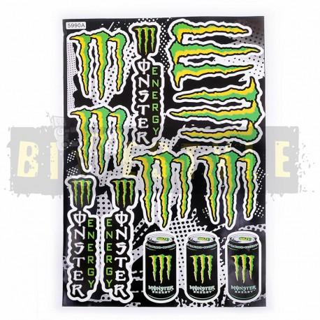 Набор наклеек Monster Energy № 21