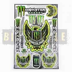 Набор наклеек Monster Energy № 23