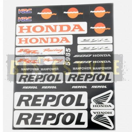 Набор наклеек Honda Repsol
