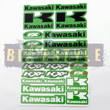Набор наклеек Kawasaki mod.3