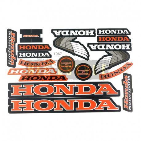 Набор наклеек Honda mod.4