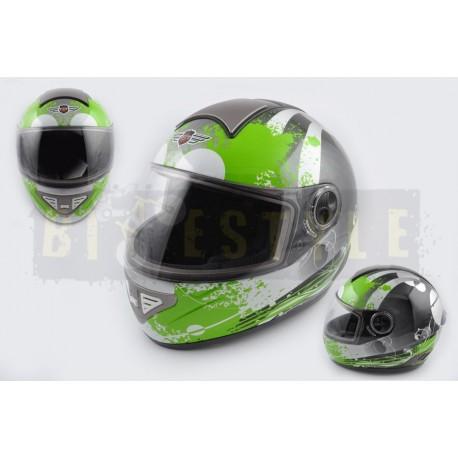 Шлем-интеграл KOJI mod.550 Black/Green