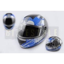 Шлем-интеграл KOJI mod.550 Black/Blue