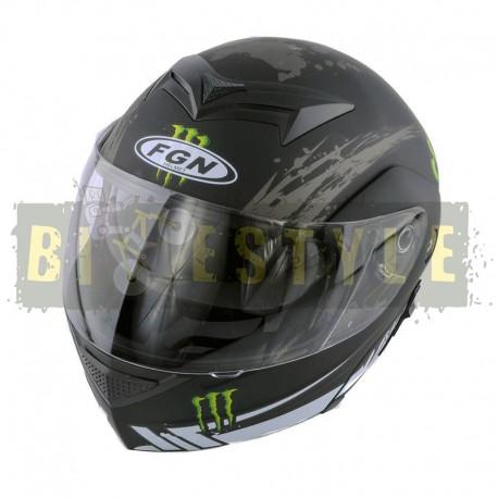 Шлем-трансформер FGN mod.111 Monster Energy