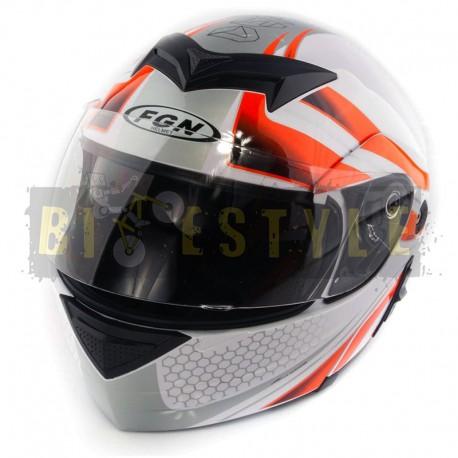 Шлем-трансформер FGN mod.111 Orange