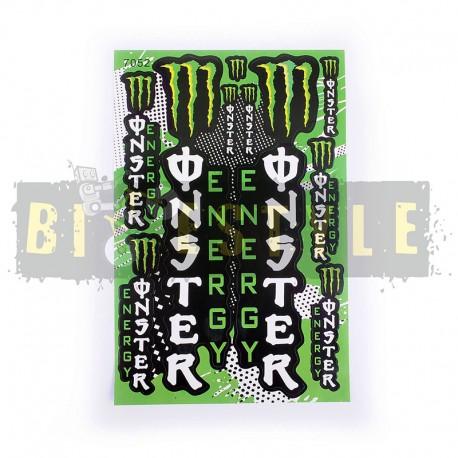 Набор наклеек Monster Energy № 6