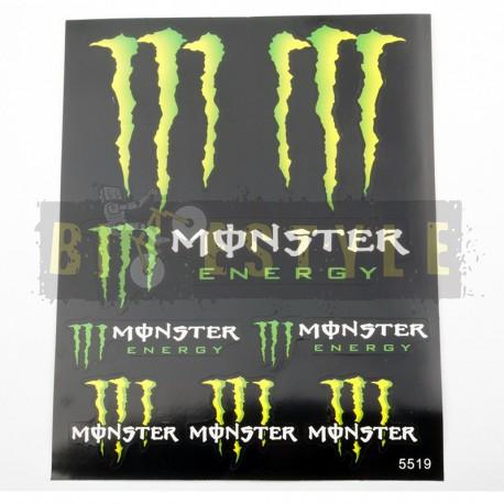 Наклейки Monster Energy Набор № 8