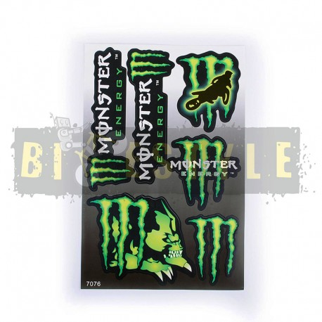 Наклейки Monster Energy Набор № 2