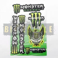 Наклейки Monster Energy Набор № 1