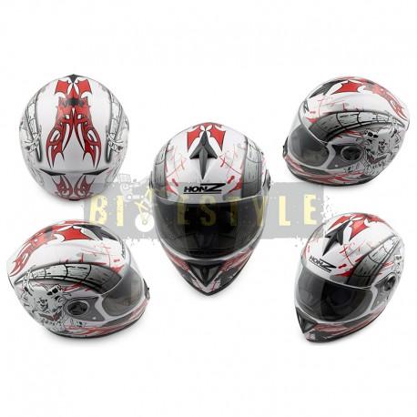 Шлем-интеграл HONZ OP-1 White