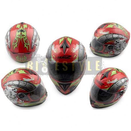 Шлем-интеграл HONZ OP-1 Red
