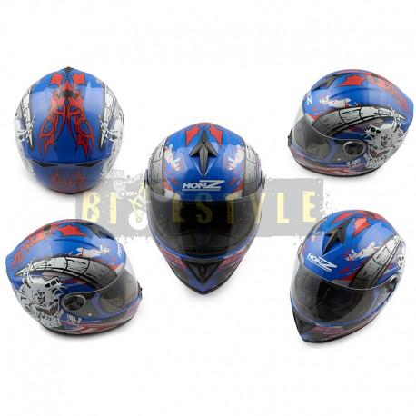 Шлем-интеграл HONZ OP-1 Blue