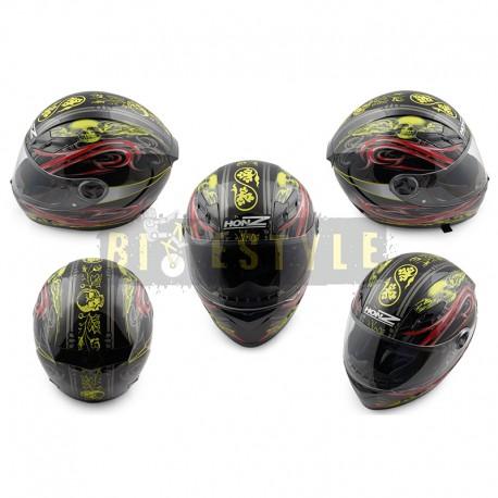 Шлем-интеграл HONZ OP-2 Black