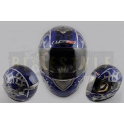 Шлем-интеграл LS-2 mod.366 Blue