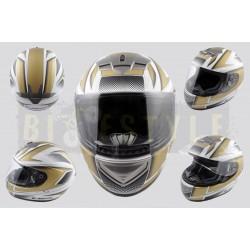 Шлем-интеграл LS-2 mod.368 White/Gold