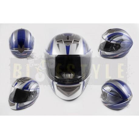 Шлем-интеграл LS-2 mod.368 White/Blue
