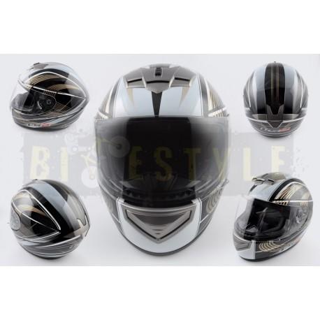 Шлем-интеграл LS-2 mod.368 Black/Gold