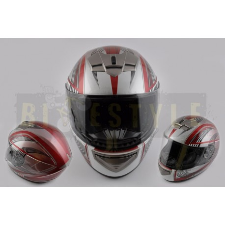 Шлем-интеграл LS-2 mod.368 Red